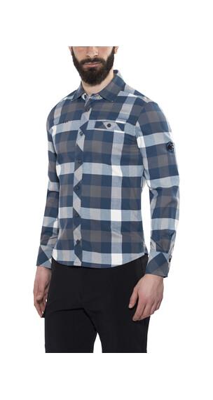 Mammut Belluno Winter Longsleeve Shirt Men titanium-orion